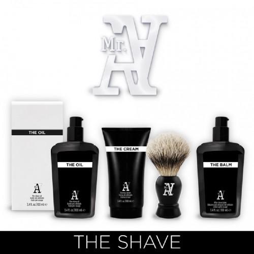 Pack afeitado Mr.A con brocha